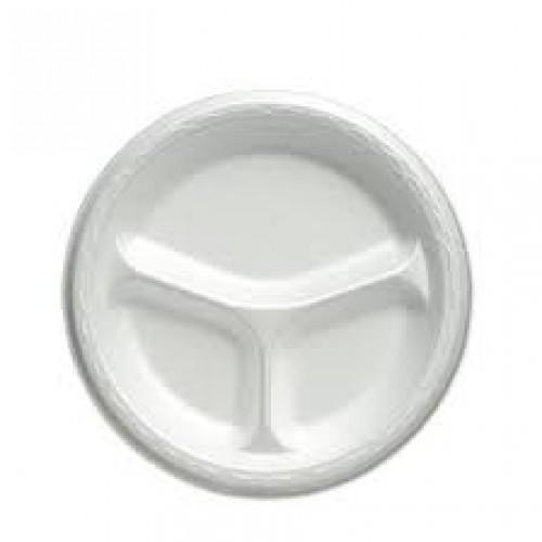 "9""-Liteware-Foam-Plate-–-3-Compartments"